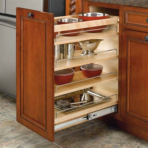 rev a shelf rev a shelf 3 tier organizer 11 quot wood 448 bc