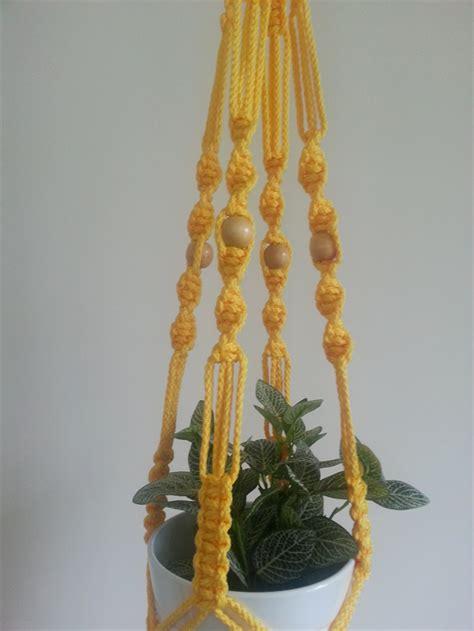 Macrame Pot Plant Hanger - quot portsea quot macrame pot plant hanger you choose colour