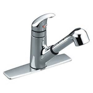 Moen Pull Out Kitchen Faucet Repair by Moen Integra 67315 Single Handle Low Arc Pull Out Kitchen