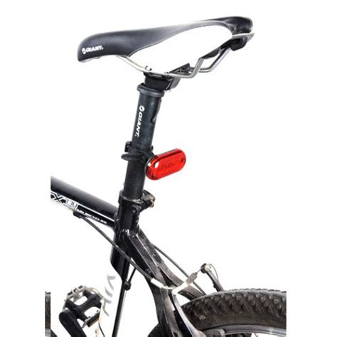 Senter Sepeda small colorful bicycle taillights safety light lu sepeda black jakartanotebook