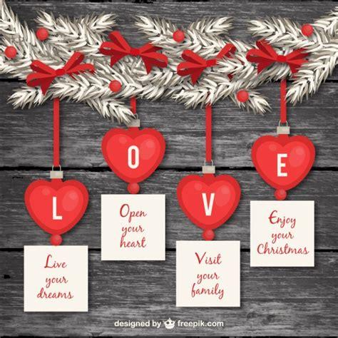 decoracion romantica decoraci 243 n rom 225 ntica de navidad descargar vectores gratis