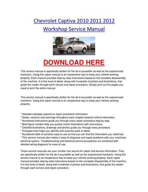 service manual car repair manual download 2007 chevrolet cobalt lane departure warning chevrolet captiva service manual idea di immagine auto