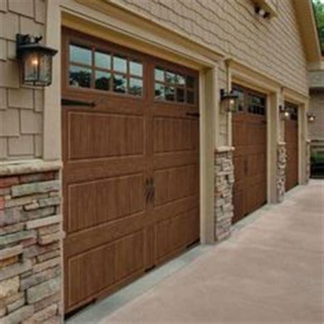 clopay gallery collection 8 ft foundation veneer exterior home veneer split level front