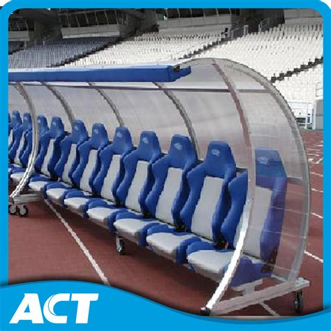 legislation from the bench china deluxe portable team shelter substitute bench with wheels from act sports