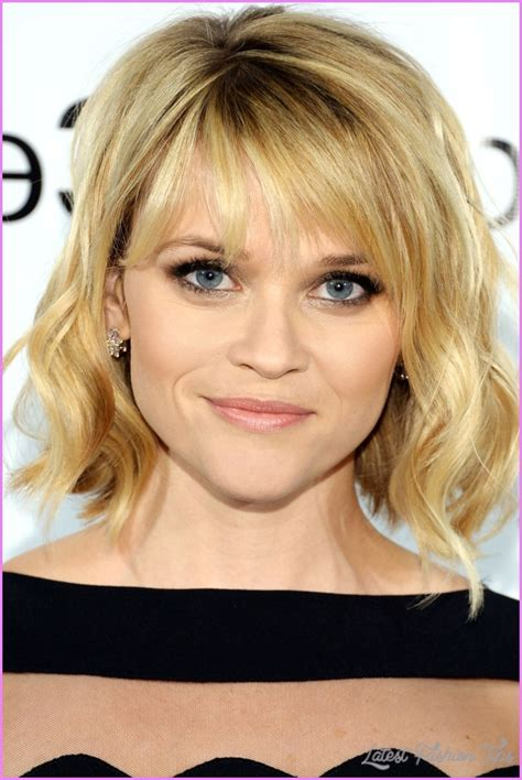 medium hairstyles for fine hair pictures medium haircuts for thin hair latestfashiontips com