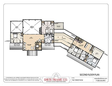 Barn Apartment Floor Plans Prefab Mountain Home Plans Forest View Davis Frame Co