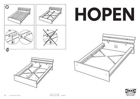 Ikea Malm King Size Bed Mode D Emploi Ikea Hopen Trouver Une Solution 224 Un