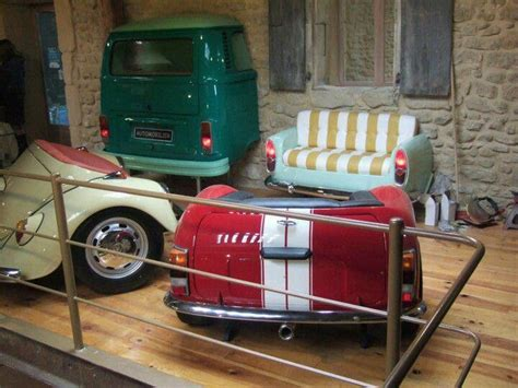 Car Couches by Vw Furniture Wall Car Parts Buses