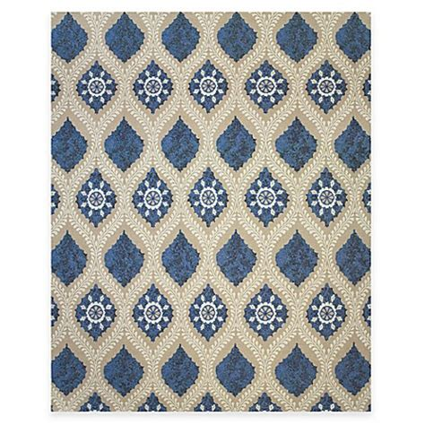 tracy porter rugs buy tracy porter 174 tamar 2 foot x 3 foot accent rug in blue from bed bath beyond