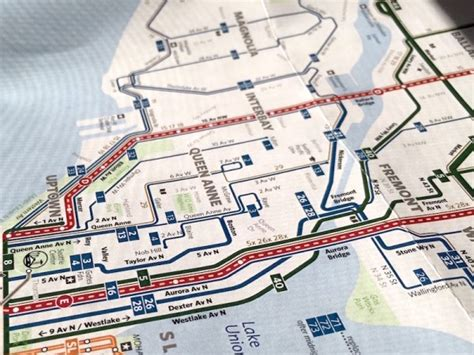 seattle map gis the seattle transit map and guide