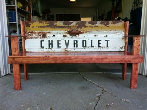 truck tailgate bench seat 69 chevy c 10 tailgate bench tailgate bench pinterest