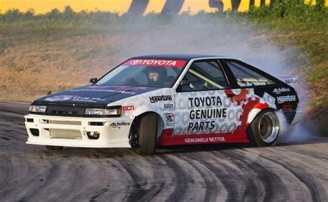Toyota Ae 86 Drift King Keiichi Tsuchiya Reveals Restored Toyota Ae86