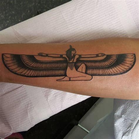 isis goddess tattoo inkybynature goddess at lark