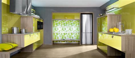 yellow modern kitchen kitchen contemporary kitchen design ideas from bauformat