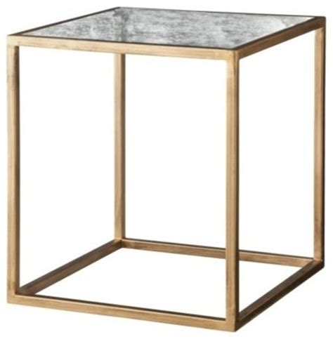 side accent tables nate berkus accent table gold and antiqued glass