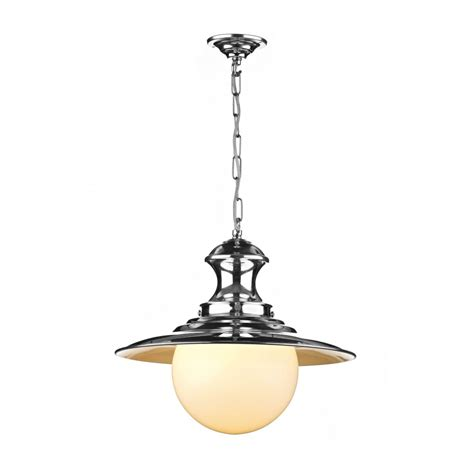 Pendant Light With Chain Station L Single Chrome Ceiling Pendant Light On Chain Uk Made