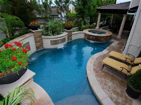 Small Backyard With Pool Swimming Pools For Small Yards Studio Design Gallery Best Design