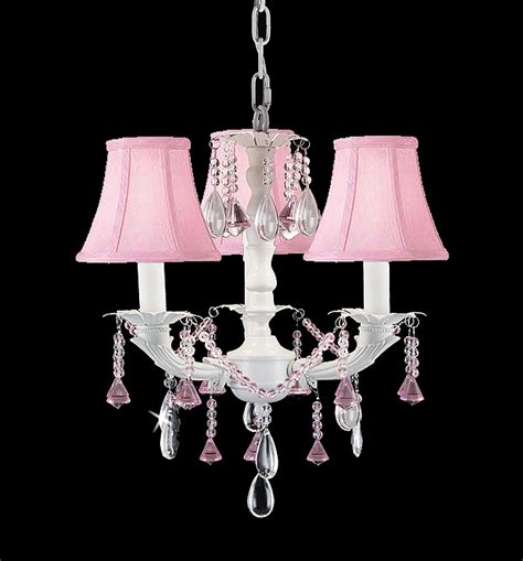 Pink Chandelier Shades P7 853 3 White Chic Chandelier Chandeliers Lighting W Pink Shades