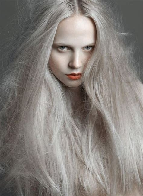 ashen color ashen the color of hair against fair skin
