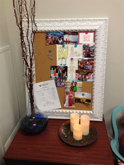 msu room and board msu room memo board and lighted branches and candles our place