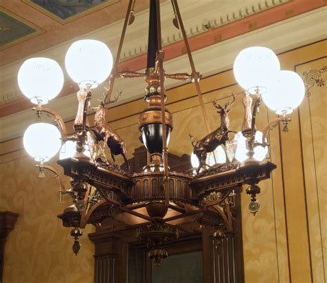 Michigan State Capitol Capitolfacts Michigan Chandelier