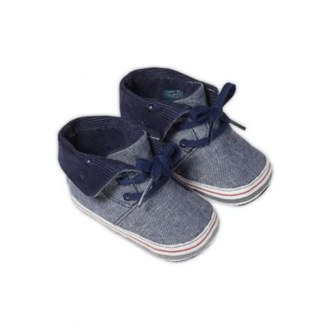 hilfiger baby shoes hilfiger baby boys chambray pram shoes liquorice