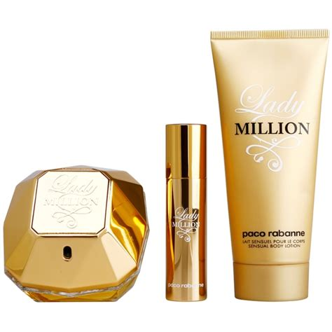 paco rabanne lady million gift set xxiv notinocouk