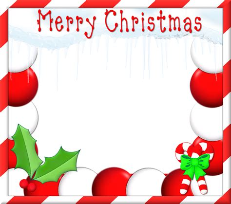 merry christmas clipart frame pencil and in color merry