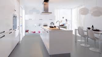 cuisine 233 quip 233 e look style design blanc cuisinella