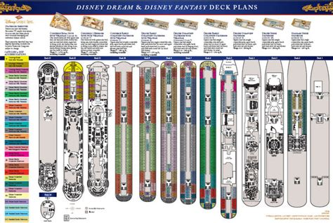 disney magic floor plan disney cruise line 174 deck plans