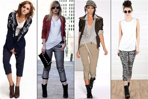 how to wear boots in various styles and heights ankle boots