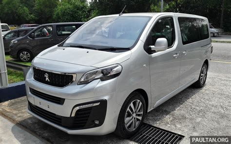 peugeot malaysia peugeot traveller spotted ahead of m sia q3 launch
