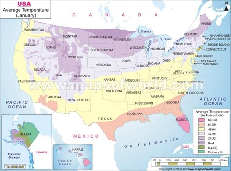 usa temp map buy us temperature map