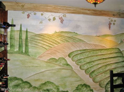 Wine Wall Murals wine theme wall murals vineyard murals