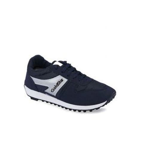 goldstar sports shoes goldstar gray synthetic leather sport shoes price in india