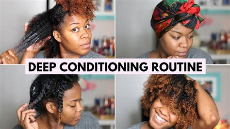 natural deep hair conditioner youtube my deep conditioning routine natural hair youtube