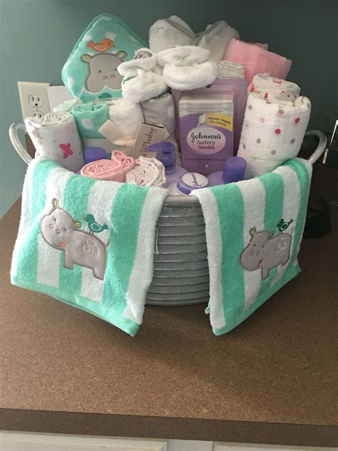 Cheap Baby Shower Items by Baby Shower Present I Made Galvanized With Baby