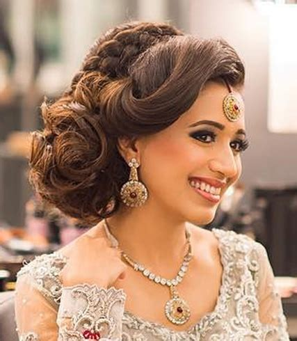Bridal Hairstyles Side Braid by 60 Traditional Indian Bridal Hairstyles For Your Wedding