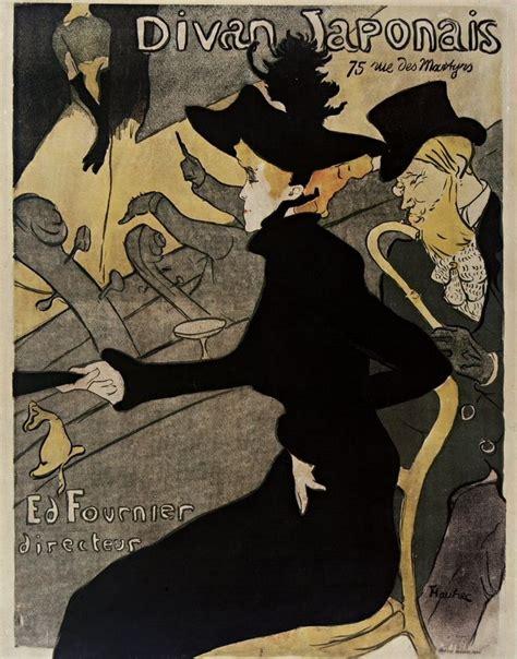 ba toulouse lautrec espagnol divan japonais 75 rue des martyrs ed fournier directeur henri de toulouse lautrec 1893