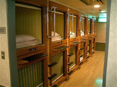 weird capsule hotel in japan ~ damn cool pictures