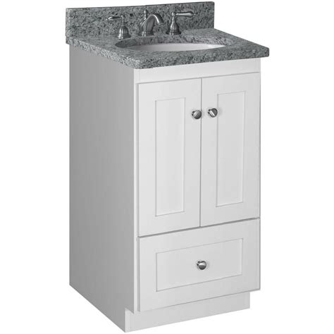 18 bathroom cabinet simplicity by strasser shaker 18 in w x 21 in d x 34 5