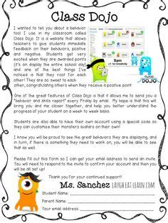 Parent Letter Explaining Class editable newsletter templates best newsletter templates