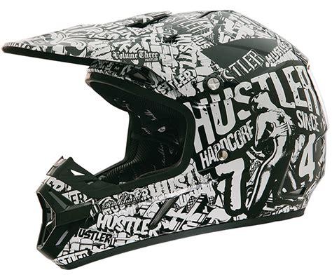 hustler motocross helmet rockhard 2015 hustler vol 3 helmet bto sports