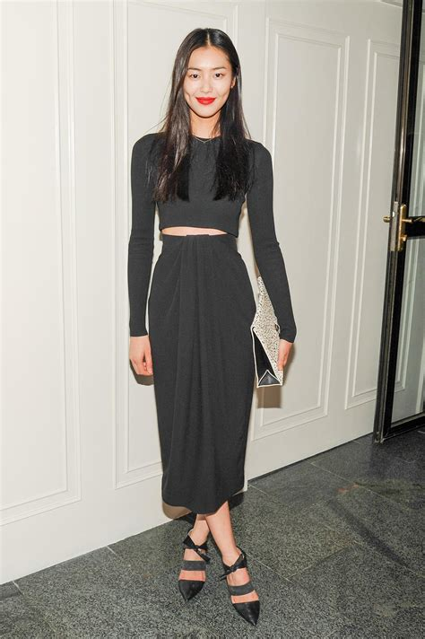 Style Liu by Liu Wen At The Cfda And Vogue Fashion Fund Americans In