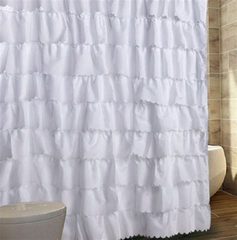White Ruffle Curtains White Ruffle Curtains Home Design Ideas