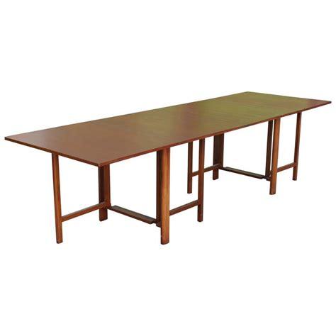 Gateleg Dining Tables Bruno Mathsson Gateleg Extending Dining Table For Sale At 1stdibs