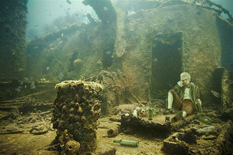 designboom ghost ship stavronikita project underwater photography by andreas franke