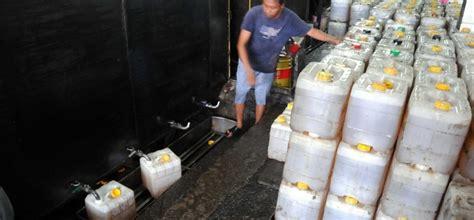 Minyak Goreng Curah Di target penghapusan minyak goreng curah republika