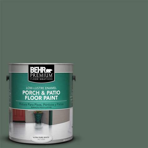 Behr Porch And Patio Floor Paint by Behr Premium 1 Gal N400 6 Terrarium Low Lustre Porch And
