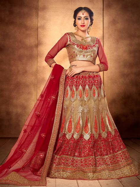 Designer Bridal Wear by Designer Wedding Lehengas Available And Blush